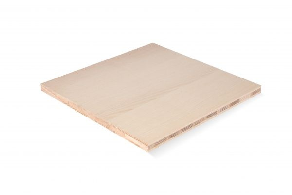 birch 3-layer panel wood market AB quality 1250 x 20 mm